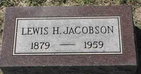 JACOBSON, LEWIS H. - Clay County, South Dakota | LEWIS H. JACOBSON - South Dakota Gravestone Photos