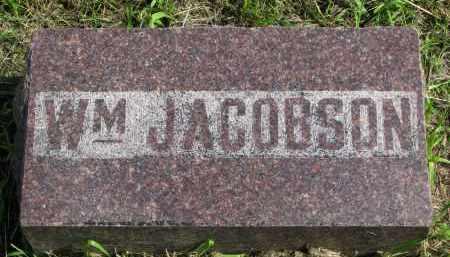 JACOBSON, WM. - Clay County, South Dakota   WM. JACOBSON - South Dakota Gravestone Photos