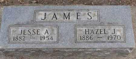 JAMES, JESSE A. - Clay County, South Dakota | JESSE A. JAMES - South Dakota Gravestone Photos