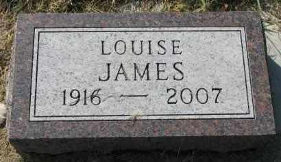 JAMES, LOUISE - Clay County, South Dakota | LOUISE JAMES - South Dakota Gravestone Photos