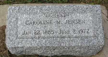 JENSEN, CAROLINE M. - Clay County, South Dakota | CAROLINE M. JENSEN - South Dakota Gravestone Photos