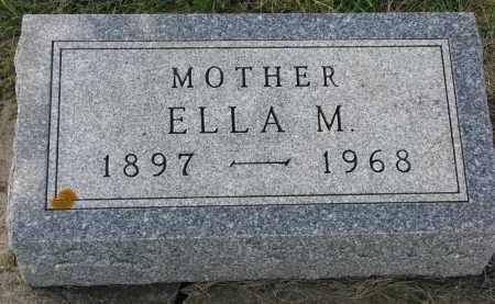 JENSEN, ELLA M. - Clay County, South Dakota | ELLA M. JENSEN - South Dakota Gravestone Photos