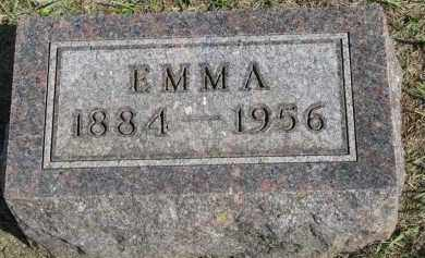 JENSEN, EMMA - Clay County, South Dakota | EMMA JENSEN - South Dakota Gravestone Photos