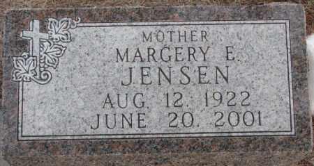 JENSEN, MARGERY E. - Clay County, South Dakota | MARGERY E. JENSEN - South Dakota Gravestone Photos