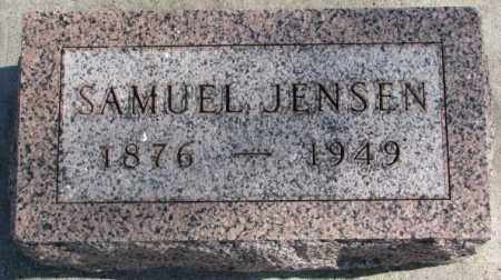 JENSEN, SAMUEL - Clay County, South Dakota | SAMUEL JENSEN - South Dakota Gravestone Photos