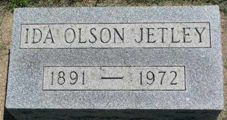 JETLEY, IDA - Clay County, South Dakota | IDA JETLEY - South Dakota Gravestone Photos