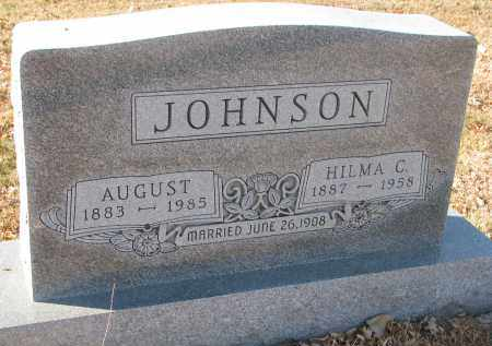 JOHNSON, AUGUST - Clay County, South Dakota | AUGUST JOHNSON - South Dakota Gravestone Photos