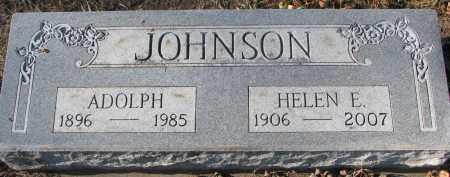 JOHNSON, HELEN E. - Clay County, South Dakota | HELEN E. JOHNSON - South Dakota Gravestone Photos