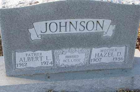 JOHNSON, HAZEL D. - Clay County, South Dakota | HAZEL D. JOHNSON - South Dakota Gravestone Photos