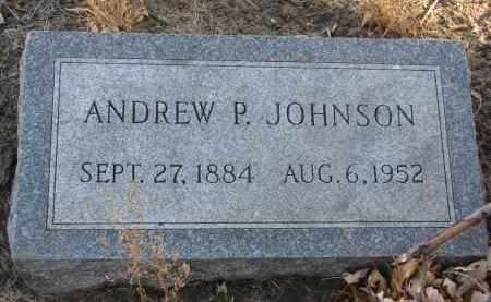 JOHNSON, ANDREW P. - Clay County, South Dakota | ANDREW P. JOHNSON - South Dakota Gravestone Photos