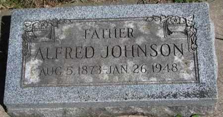 JOHNSON, ALFRED - Clay County, South Dakota   ALFRED JOHNSON - South Dakota Gravestone Photos