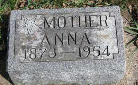 JOHNSON, ANNA - Clay County, South Dakota | ANNA JOHNSON - South Dakota Gravestone Photos