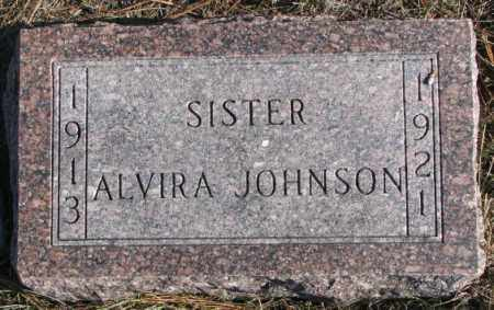 JOHNSON, ALVIRA - Clay County, South Dakota   ALVIRA JOHNSON - South Dakota Gravestone Photos