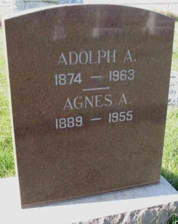 JOHNSON, AGNES A. - Clay County, South Dakota | AGNES A. JOHNSON - South Dakota Gravestone Photos