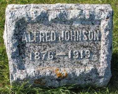JOHNSON, ALFRED - Clay County, South Dakota | ALFRED JOHNSON - South Dakota Gravestone Photos