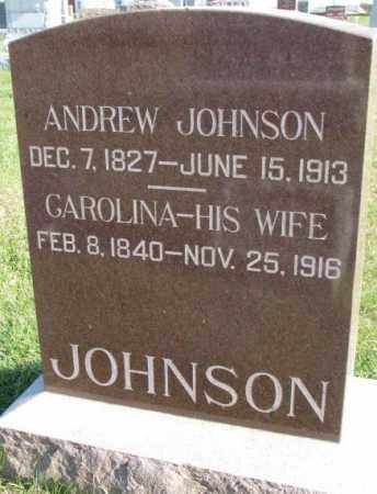 JOHNSON, CAROLINA - Clay County, South Dakota | CAROLINA JOHNSON - South Dakota Gravestone Photos