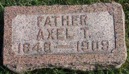 JOHNSON, AXEL T. - Clay County, South Dakota | AXEL T. JOHNSON - South Dakota Gravestone Photos