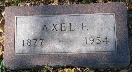 JOHNSON, AXEL F. - Clay County, South Dakota | AXEL F. JOHNSON - South Dakota Gravestone Photos