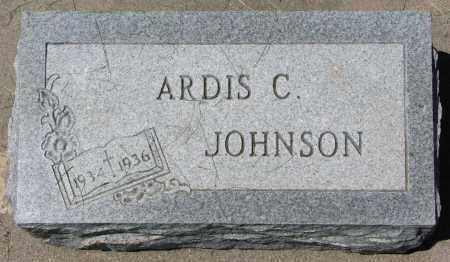JOHNSON, ARDIS C. - Clay County, South Dakota   ARDIS C. JOHNSON - South Dakota Gravestone Photos