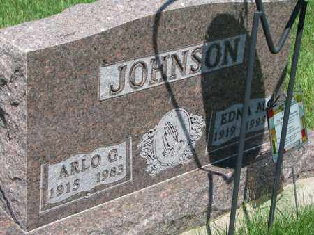 JOHNSON, ARLO G. - Clay County, South Dakota | ARLO G. JOHNSON - South Dakota Gravestone Photos