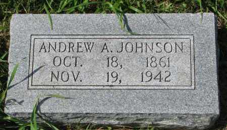 JOHNSON, ANDREW A. - Clay County, South Dakota | ANDREW A. JOHNSON - South Dakota Gravestone Photos