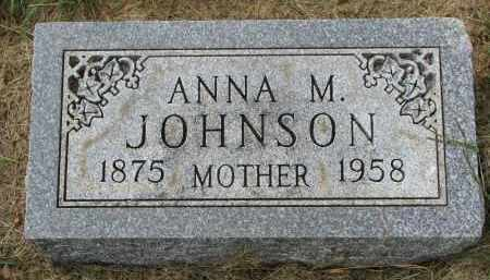 JOHNSON, ANNA M. - Clay County, South Dakota | ANNA M. JOHNSON - South Dakota Gravestone Photos