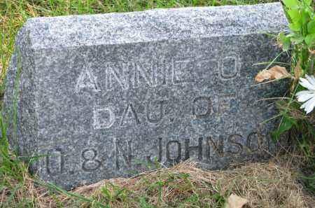 JOHNSON, ANNIE O. - Clay County, South Dakota | ANNIE O. JOHNSON - South Dakota Gravestone Photos
