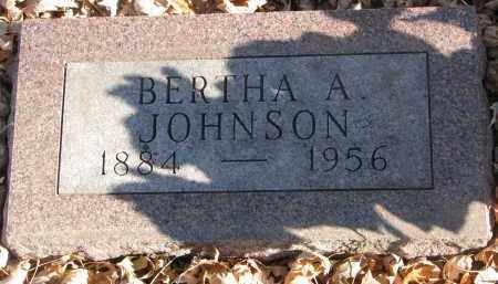 JOHNSON, BERTHA A. - Clay County, South Dakota | BERTHA A. JOHNSON - South Dakota Gravestone Photos