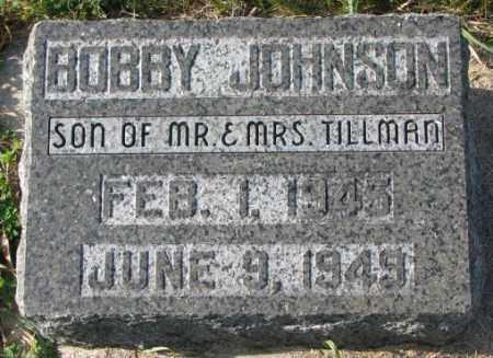 JOHNSON, BOBBY - Clay County, South Dakota | BOBBY JOHNSON - South Dakota Gravestone Photos