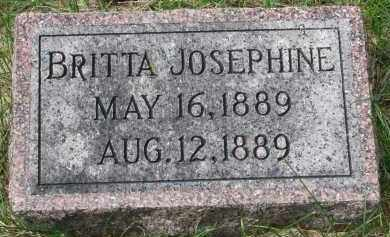 JOHNSON, BRITTA JOSEPHINE - Clay County, South Dakota | BRITTA JOSEPHINE JOHNSON - South Dakota Gravestone Photos