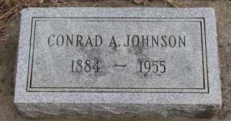 JOHNSON, CONRAD A. - Clay County, South Dakota | CONRAD A. JOHNSON - South Dakota Gravestone Photos