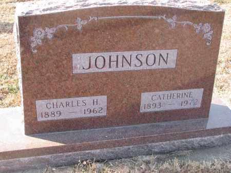 JOHNSON, CHARLES H. - Clay County, South Dakota | CHARLES H. JOHNSON - South Dakota Gravestone Photos