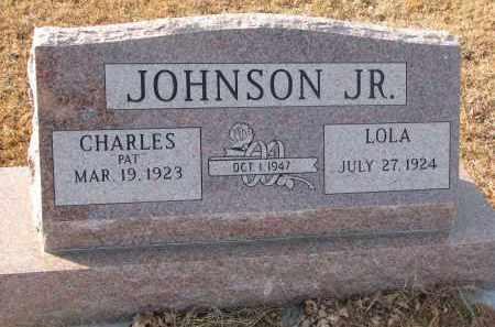 JOHNSON, LOLA - Clay County, South Dakota | LOLA JOHNSON - South Dakota Gravestone Photos