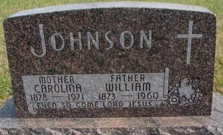 JOHNSON, WILLIAM - Clay County, South Dakota | WILLIAM JOHNSON - South Dakota Gravestone Photos