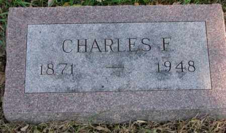 JOHNSON, CHARLES F. - Clay County, South Dakota   CHARLES F. JOHNSON - South Dakota Gravestone Photos