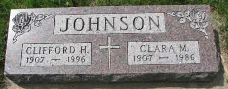 JOHNSON, CLARA M. - Clay County, South Dakota | CLARA M. JOHNSON - South Dakota Gravestone Photos