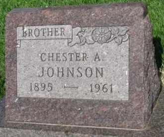 JOHNSON, CHESTER A. - Clay County, South Dakota | CHESTER A. JOHNSON - South Dakota Gravestone Photos