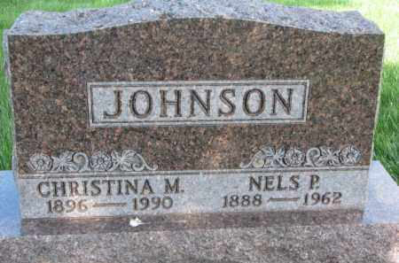 JOHNSON, NELS P. - Clay County, South Dakota | NELS P. JOHNSON - South Dakota Gravestone Photos