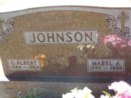 JOHNSON, C. ALBERT - Clay County, South Dakota | C. ALBERT JOHNSON - South Dakota Gravestone Photos