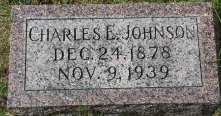 JOHNSON, CHARLES E. - Clay County, South Dakota | CHARLES E. JOHNSON - South Dakota Gravestone Photos