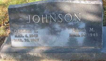 JOHNSON, DENNIS L. - Clay County, South Dakota | DENNIS L. JOHNSON - South Dakota Gravestone Photos
