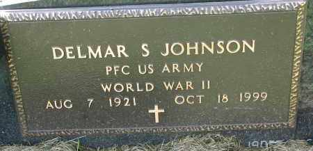 JOHNSON, DELMAR S. (WW II) - Clay County, South Dakota | DELMAR S. (WW II) JOHNSON - South Dakota Gravestone Photos