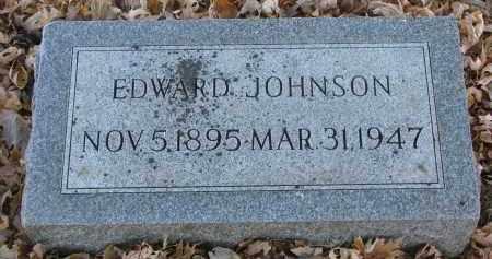 JOHNSON, EDWARD - Clay County, South Dakota   EDWARD JOHNSON - South Dakota Gravestone Photos