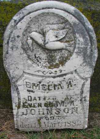 JOHNSON, EMELIA A. - Clay County, South Dakota | EMELIA A. JOHNSON - South Dakota Gravestone Photos