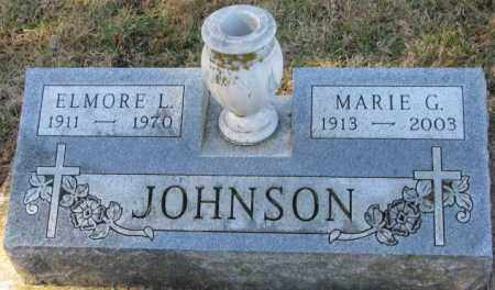 JOHNSON, MARIE G. - Clay County, South Dakota | MARIE G. JOHNSON - South Dakota Gravestone Photos