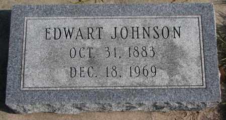 JOHNSON, EDWART - Clay County, South Dakota | EDWART JOHNSON - South Dakota Gravestone Photos