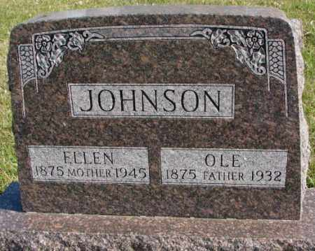 JOHNSON, ELLEN - Clay County, South Dakota | ELLEN JOHNSON - South Dakota Gravestone Photos