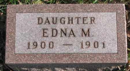 JOHNSON, EDNA M. - Clay County, South Dakota | EDNA M. JOHNSON - South Dakota Gravestone Photos