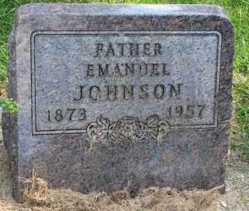 JOHNSON, EMANUEL - Clay County, South Dakota | EMANUEL JOHNSON - South Dakota Gravestone Photos