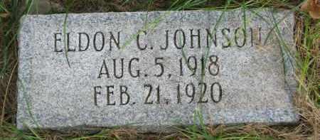 JOHNSON, ELDON C. - Clay County, South Dakota | ELDON C. JOHNSON - South Dakota Gravestone Photos